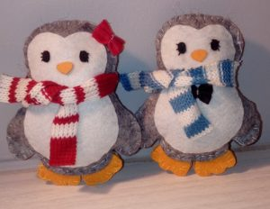 Penguin Stuffed Animal Decorations