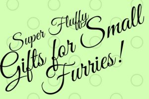 Gifts for Small Furries